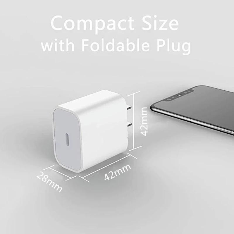 IPHONE Củ Sạc Nhanh Pd18-20W Cho Ios Và Android / 3.0 A