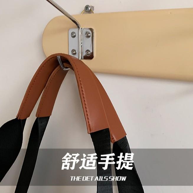 Túi Tote Vải Canvas Cỡ Lớn In Chữ Kiểu Hàn Quốc 2021