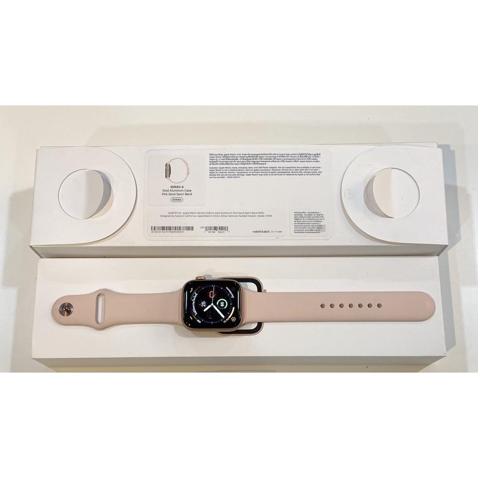 Apple Watch Aluminum Series 4 44mm ใส่ซิมได้ ราคานี้คุ้มมากๆ สภาพมือ1