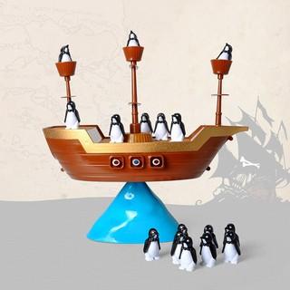Đồ chơi cân bằng thuyền hải tặc chim cánh cụt thumbnail