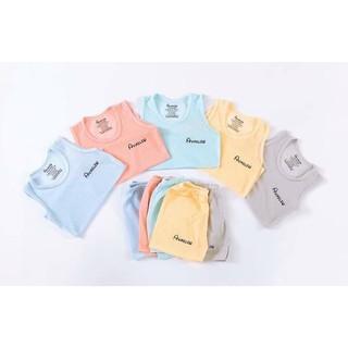 Bộ Ba Lỗ Cotton Sợi Tre Mềm Mát Hãng NouBaByCho Bé 5-15Kg NamKidShop QATE320