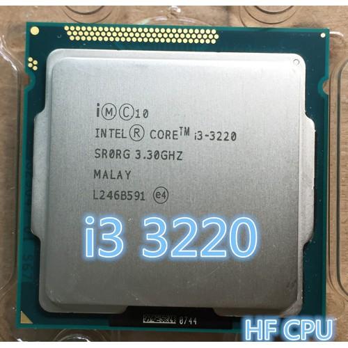 [Mã ELCLXU8 hoàn 150K xu đơn 500K] cpu i3 3220 socket 1155