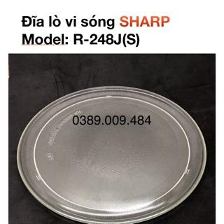 Đĩa lò vi sóng SHARP R-248J(S)