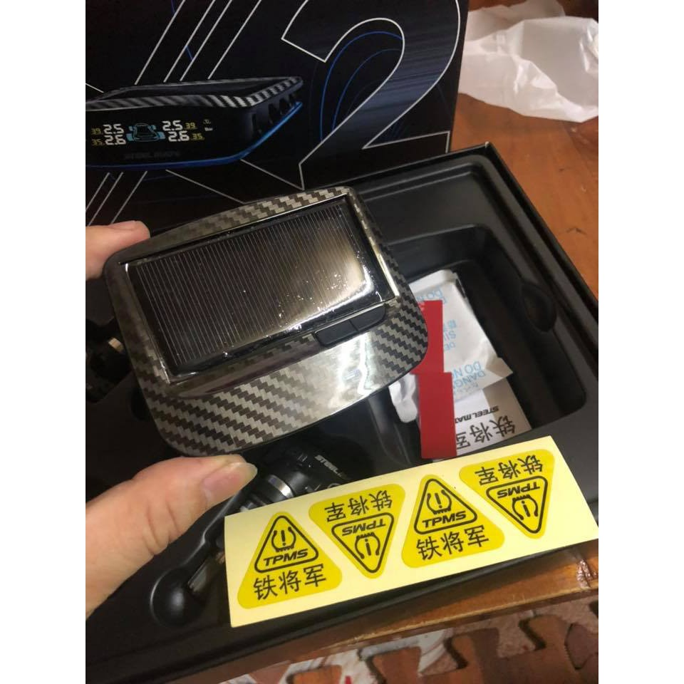 Cảm Biến Áp Suất Lốp Steelmate X2 Van Trong