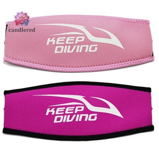 KEEP DIVING Scuba Diving Mask Strap Cover Surfing Hair Strap Cover,B