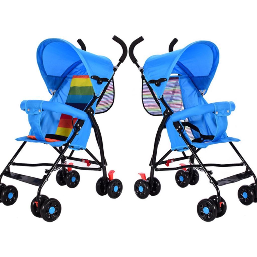 Baby cot รถเข็นเด็ก สีฟ้าaby cot รถเข็นเด็ก สีฟ้า