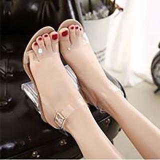 [Mã FASHIONGREEN94 giảm 10% tối đa 30k đơn từ 99k] [ẢNH THẬT] Giày cao gót sandal 9 phân bản trong __Lz003 thumbnail