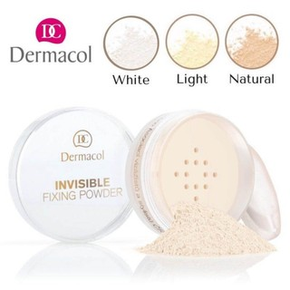Phấn Phủ Đẹp Tự Nhiên Dermacol Invisible Fixing Powder 13.5g