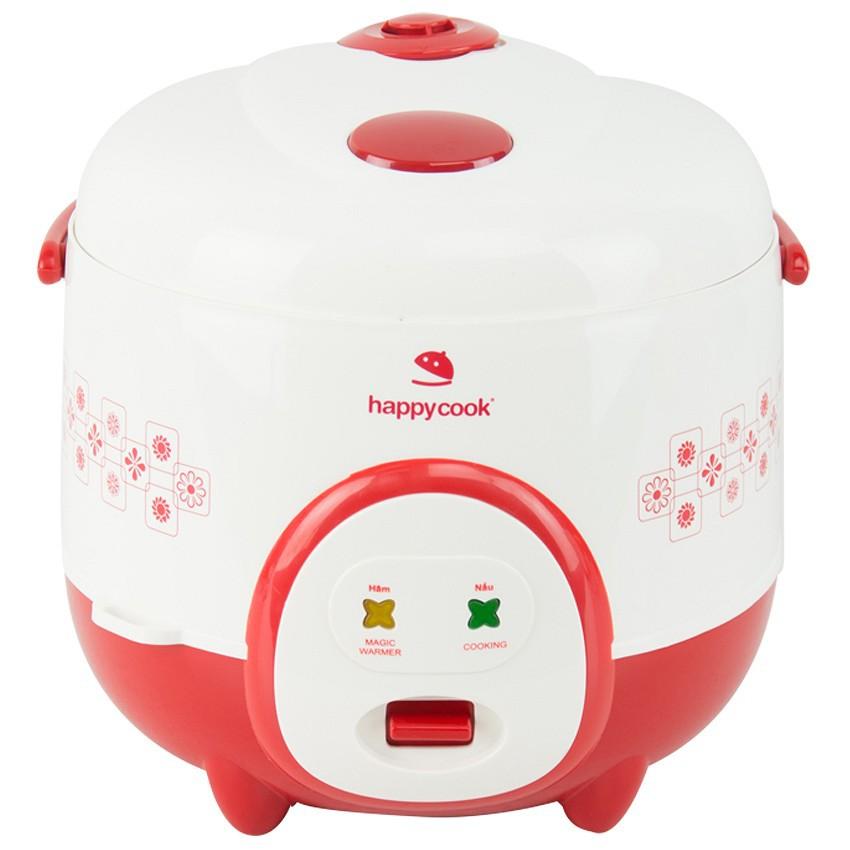Nồi cơm điện HappyCook 1.2L HC-120 Đỏ