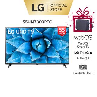 Smart UHD Tivi LG 55 Inch 4K 55UN7300PTC - Model 2020 - Miễn phí lắp đặt thumbnail