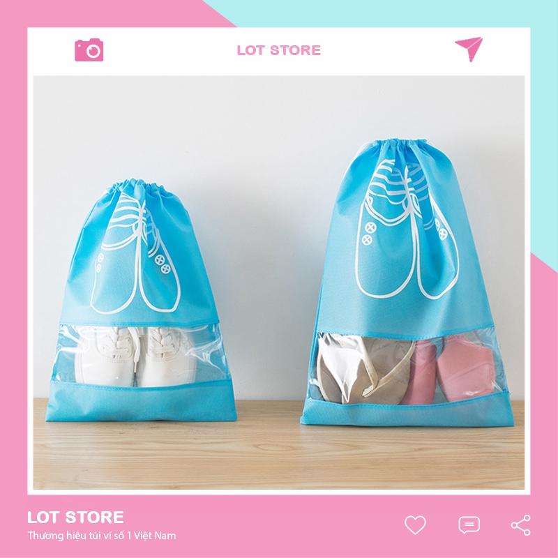 Túi đựng giày dây rút chống bụi bẩn đi du lịch TI09