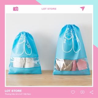 Túi đựng giày dây rút chống bụi bẩn đi du lịch TI09 thumbnail