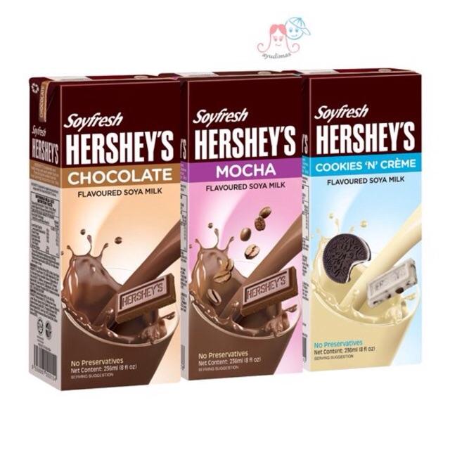 Bộ 10 hộp Sữa Đậu Nành Soyfresh Hershey