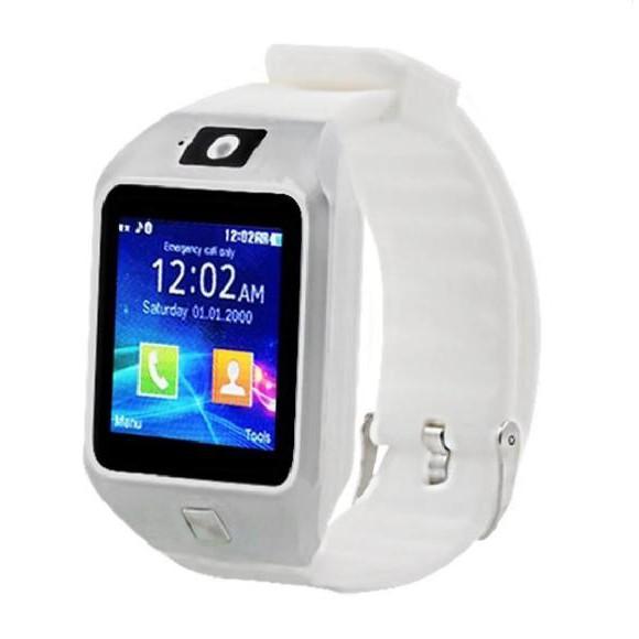 Đồng hồ thông minh smart watch DZ09S trắng