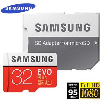 {Chính hãng} Thẻ nhớ Samsung Evo Plus 32G 95Mb/s + adapter - BH 05 năm