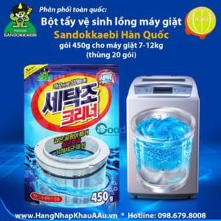 combo 5 gói bột tẩy lồng máy giặt gói 450g - 3192598 , 1039572262 , 322_1039572262 , 180000 , combo-5-goi-bot-tay-long-may-giat-goi-450g-322_1039572262 , shopee.vn , combo 5 gói bột tẩy lồng máy giặt gói 450g