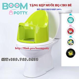 [ CHÍNH HÃNG ] Boom Potty – Bô rửa vệ sinh đa năng cho bé