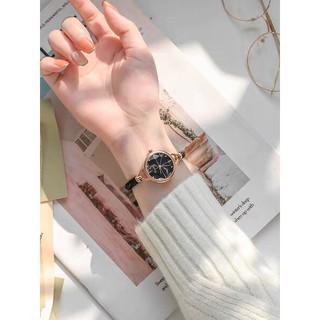 Đồng hồ nữ Kimio 6328 Dáng Lắc Cao Cấp - Màu Đen thumbnail