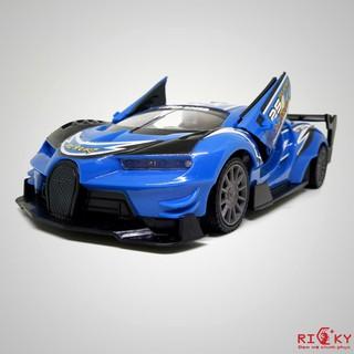 Siêu xe ' bò tót Lamborghini' điều khiển mở cửa có đèn