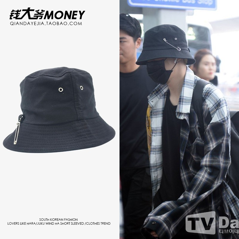 Mũ bucket giống BTS J-Hope, Jimin, Suga