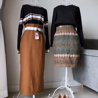[2HAND] Chân váy dạ Nhật
