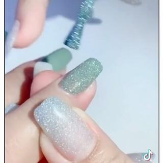 Sơn gel nhũ Flash kim tuyến trang trí móng làm nail shop hoang nam nail thumbnail