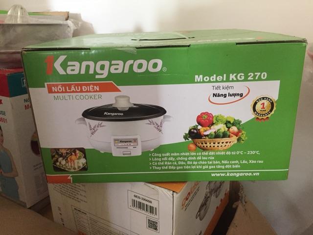 Nồi lẩu điện kangaroo KG270 chính hãng