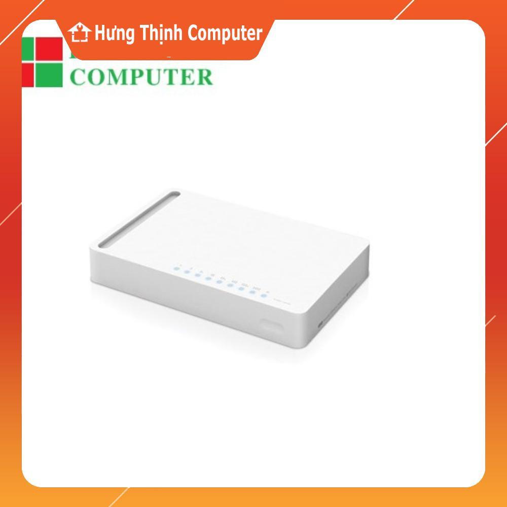 [Nhập ELCLMAY hoàn 30K xu đơn từ 200K]Bộ chia mạng Totolink S808 gồm 8 cổng 10/100 Mbs Giá chỉ 110.000₫