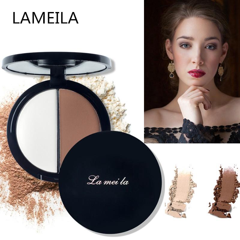 【Youthful& Beautiful】Phấn tạo khối dạng nén 2 màu Lameila dành cho mọi tông màu da