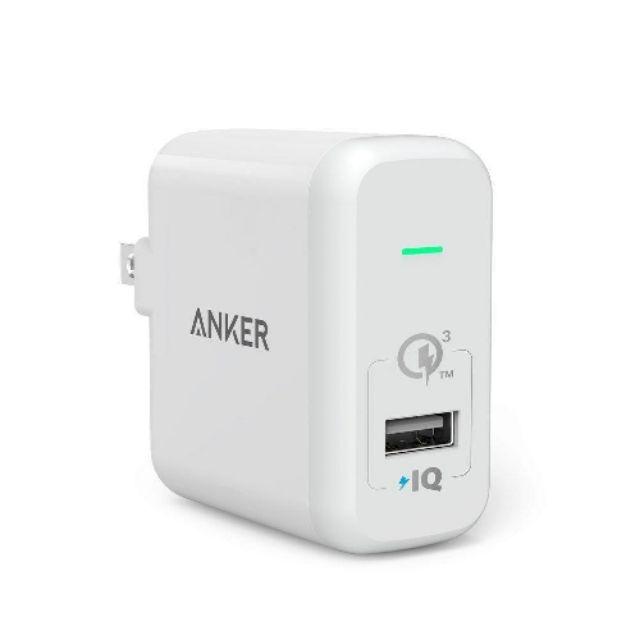 Sạc Anker 3.0 Quick chính hãng Anker
