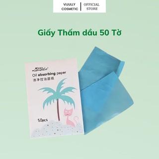 Giấy Thấm Hút Dầu LAMEILA LÀM Sạch Da Gói 50 Tờ thumbnail