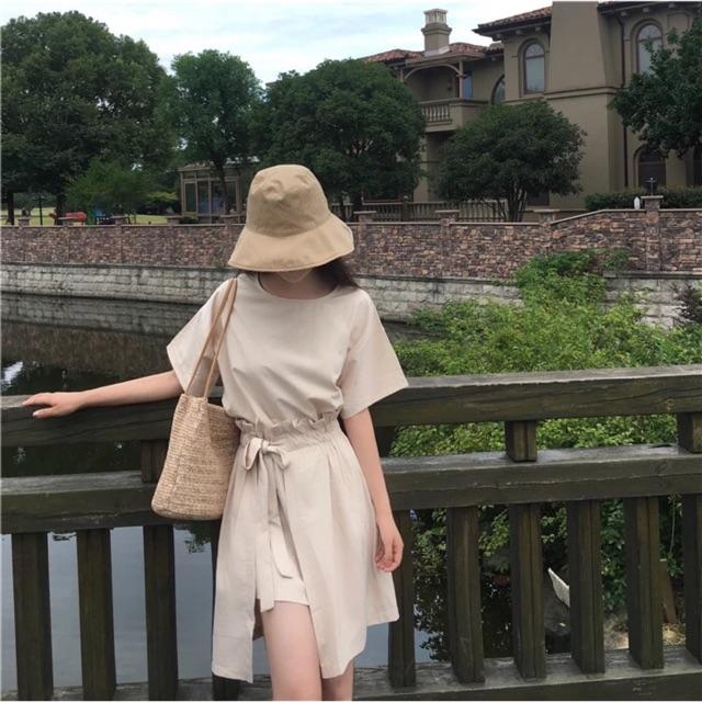 Bộ quần áo nữ phong cách Ulzzang QA8 Áo phông + chân váy phối kiểu - 3093532 , 1287206977 , 322_1287206977 , 200000 , Bo-quan-ao-nu-phong-cach-Ulzzang-QA8-Ao-phong-chan-vay-phoi-kieu-322_1287206977 , shopee.vn , Bộ quần áo nữ phong cách Ulzzang QA8 Áo phông + chân váy phối kiểu