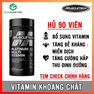 Viên uống Vitamin tổng hợp bổ sung dưỡng chất Platinum Multi Vitamin MuscleTech - Hàng phân phối chính hãng 100% thumbnail