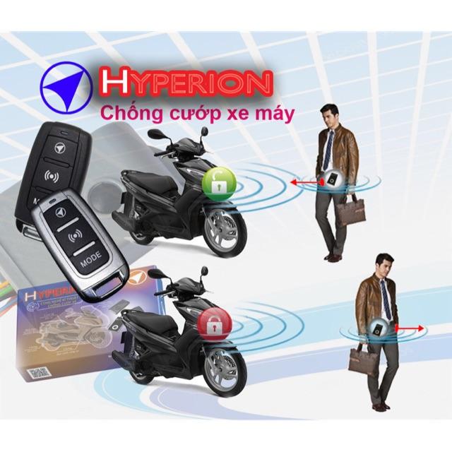 Chống trộm cướp xe máy Hyperion