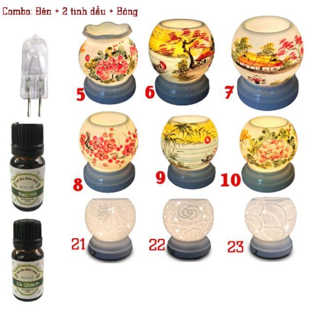 Bộ đèn xông tinh dầu MNB và 2 chai tinh dầu Eco oil 5ml khác loại (Tặng 1 bóng đèn thay) - 3429956 , 850719535 , 322_850719535 , 199000 , Bo-den-xong-tinh-dau-MNB-va-2-chai-tinh-dau-Eco-oil-5ml-khac-loai-Tang-1-bong-den-thay-322_850719535 , shopee.vn , Bộ đèn xông tinh dầu MNB và 2 chai tinh dầu Eco oil 5ml khác loại (Tặng 1 bóng đèn thay)