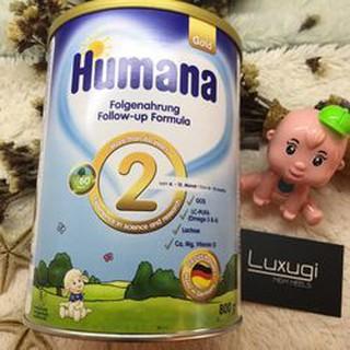 Sữa Humana Gold số 2-800g Nhập khẩu Đức ( Cam Kết 100% Hàng Chính Hãng)