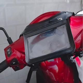 [Xả Kho] Túi treo xe máy bằng da Sunha Ver 5.0 Mới nhất năm 2020, là túi treo điện thoại đầu xe máy chuyên dụng TP379