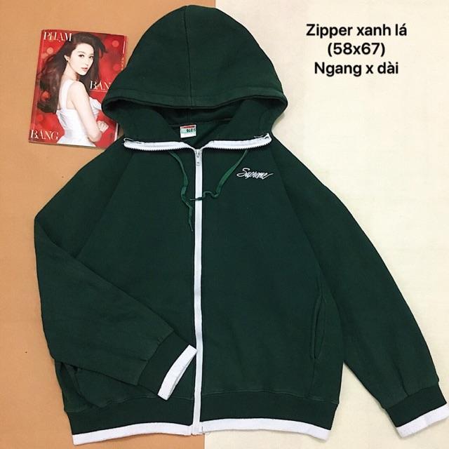 Áo zipper Supreme