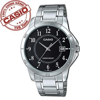 Đồng hồ nam dây kim loại Casio Standard chính hãng Anh Khuê MTP-V004D-1BUDF (41mm)