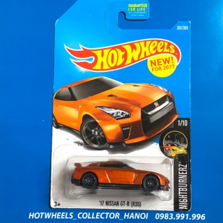 Xe Hot Wheels – '17 Nissan GT-R (R35)