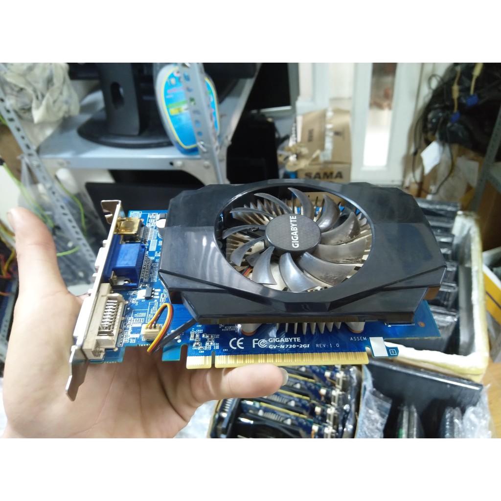 Card màn hình vga gt730 hiệu Asus, Giga, Zotac ddr3 – ddr5, card màn hình asus, giga