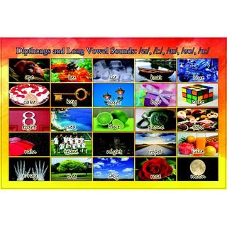 Bộ xếp hình – Nguyên âm mới và Nguyên âm dài – 50 mảnh