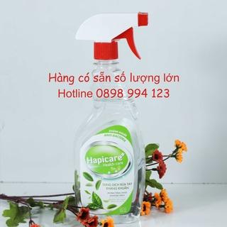 [Sẵn SLL] 500ml Nước Rửa Tay Kháng Khuẩn HapiCare Plus - có xuất hoá đơn VAT cho công ty thumbnail