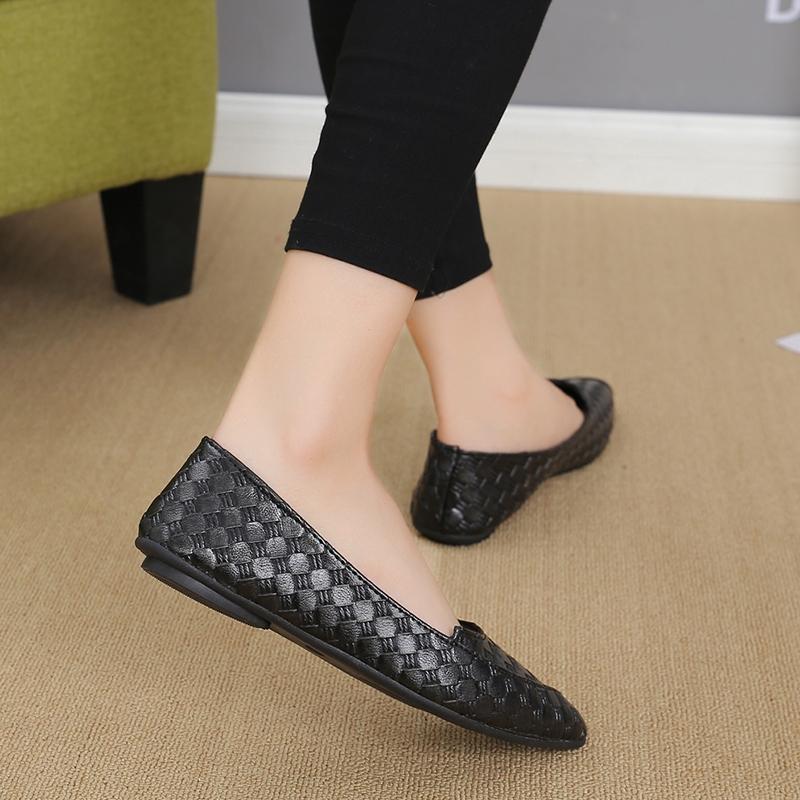 Giày Búp Bê Mũi Nhọn Đế Bằng Cho Nữ