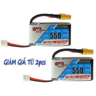[HCM] – Pin Lipo 2S 550mAh dòng xả 80/160C 7.4V Jack XT30 – thương hiệu GNB