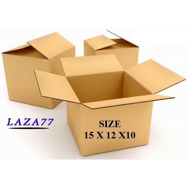 Thùng Carton 15x12x10 Bộ 20 Hộp Carton