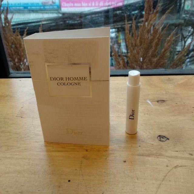 Vial nước hoa Dior Homme Cologne - 3404136 , 1201718568 , 322_1201718568 , 35000 , Vial-nuoc-hoa-Dior-Homme-Cologne-322_1201718568 , shopee.vn , Vial nước hoa Dior Homme Cologne