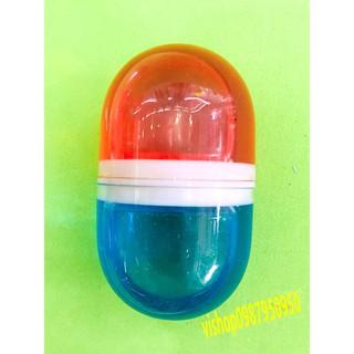 slime lọ tròn phối 2 màu sắc dạng mềm đặc mã IEL0 JBTS so