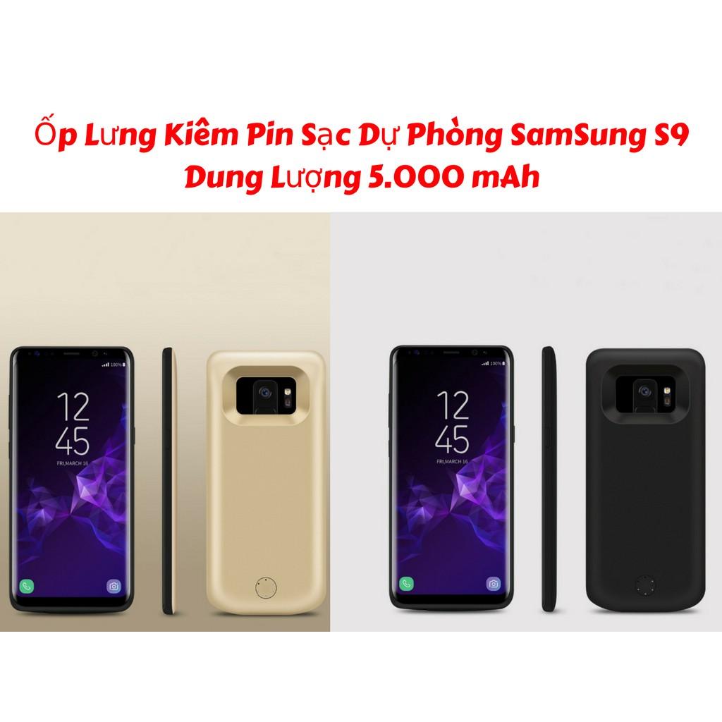 Ốp Lưng Kiêm Sạc Dự Phòng SS Galaxy S9 JLW-S9 Dung Lượng 5000mAh - 21518922 , 1078506575 , 322_1078506575 , 480000 , Op-Lung-Kiem-Sac-Du-Phong-SS-Galaxy-S9-JLW-S9-Dung-Luong-5000mAh-322_1078506575 , shopee.vn , Ốp Lưng Kiêm Sạc Dự Phòng SS Galaxy S9 JLW-S9 Dung Lượng 5000mAh