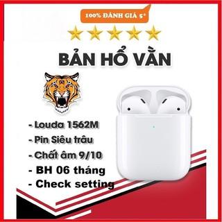 [Tai Nghe Airpods Hổ Vằn] Tai Nghe Bluetooth Nhét Tai Hổ Vằn 1562M TWS Check Setting Định Vị Đổi Tên / Dùng Cả IOS & And